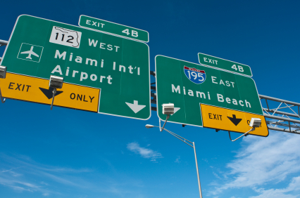 International chauffeur services Miami Airport